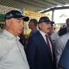 М.В. Егоров и Х.А. Амерханов во время обхода